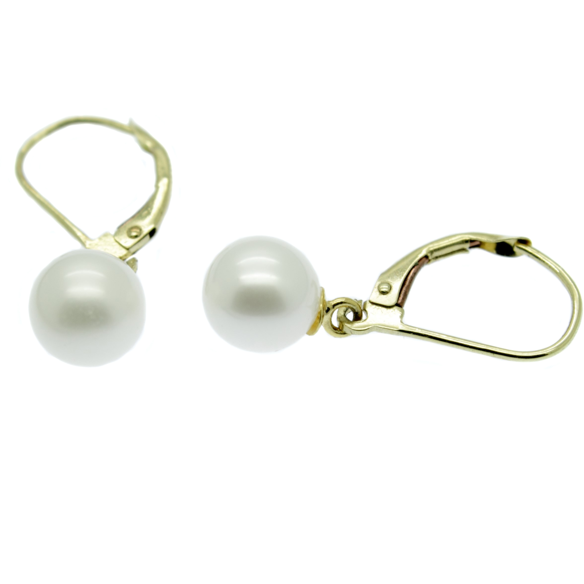 earrings charlie uk bridal weddings freshwater stud pearl real britten gold collections wedding